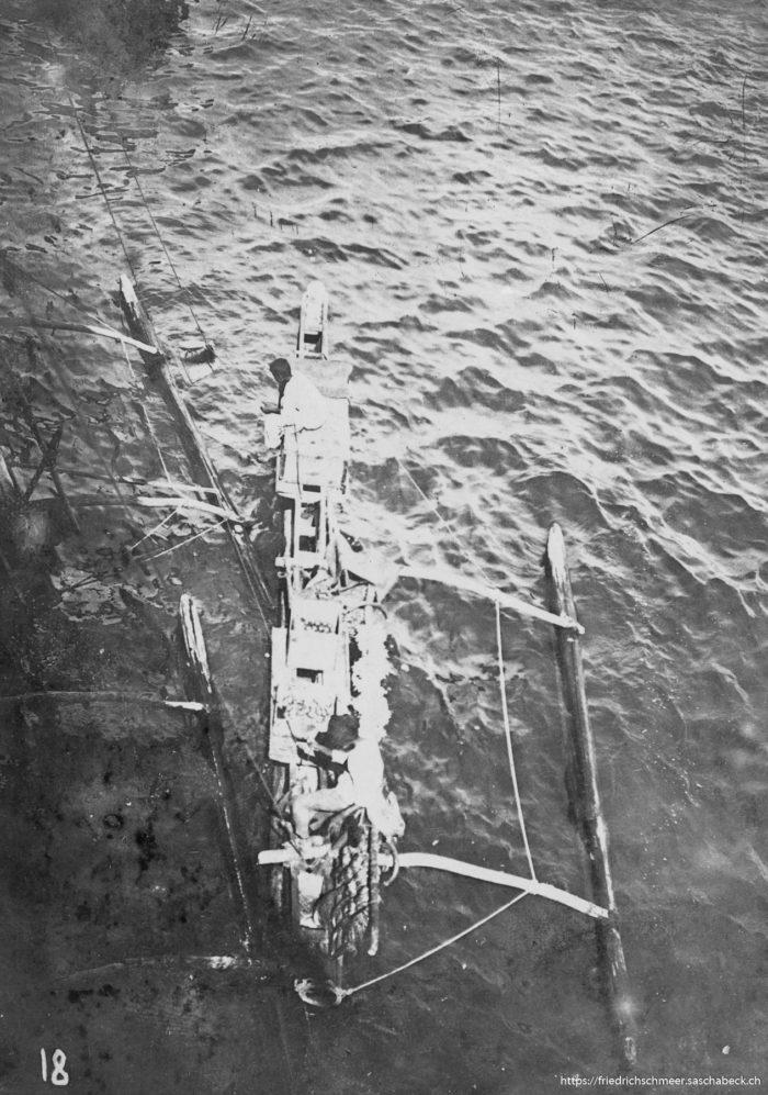 Colombo Auslegerboot