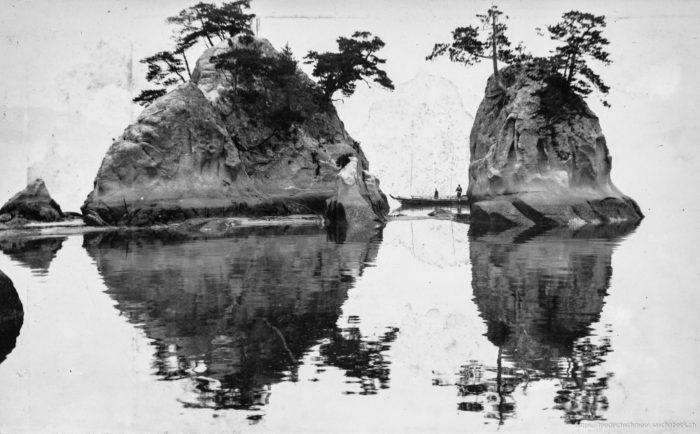 Heilige Inseln Itsukushima Japan