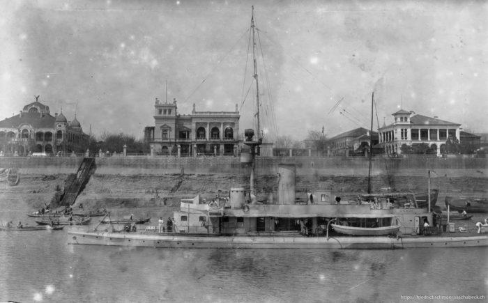 """S.M. Flusskanonenboot """"Vaterland"""""""