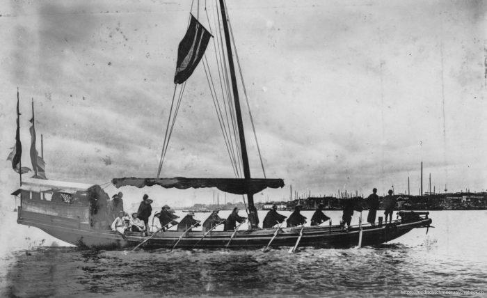 Yangtse Ruderboot (Mandarien)