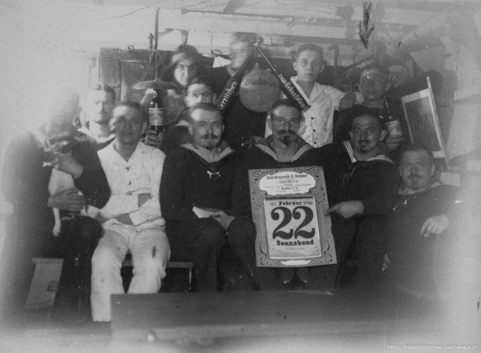 Geburtstagsfeier 1913 ObMaat Surup