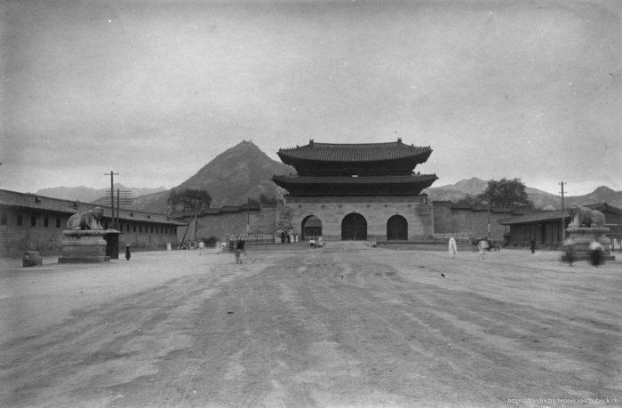 Eingang zum königlichen Palast Seoul Korea