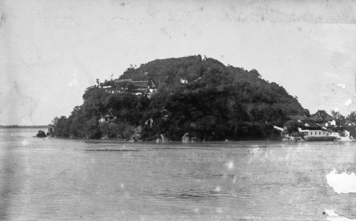 Silber-Insel bei  Nanjing / Zhenjiang