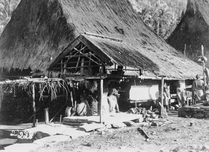 ... der Eingeborenen auf Sumatra