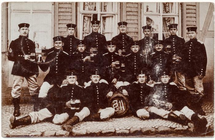 Postkarte an Friedrich