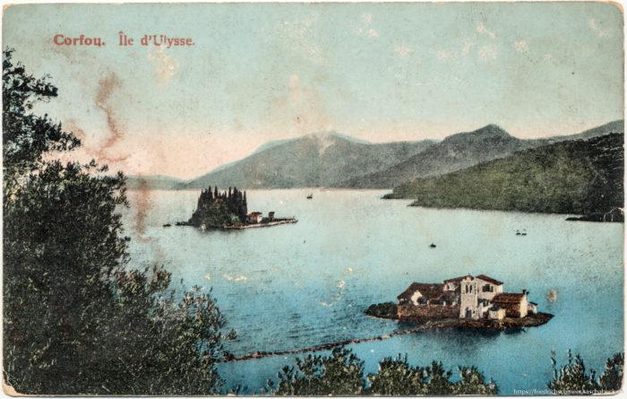 Korfou - Ile d'Ulysse