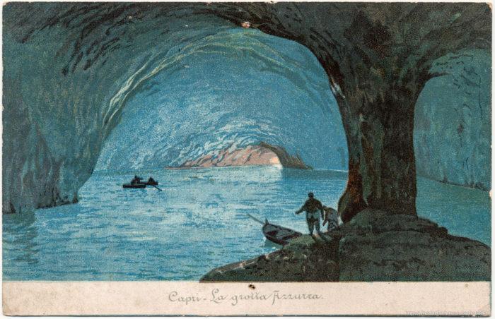 Capri - La grotta Azzurra