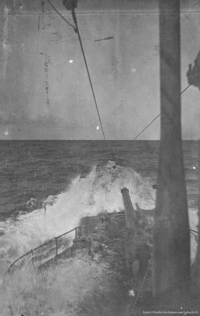 U33 Vorschiff