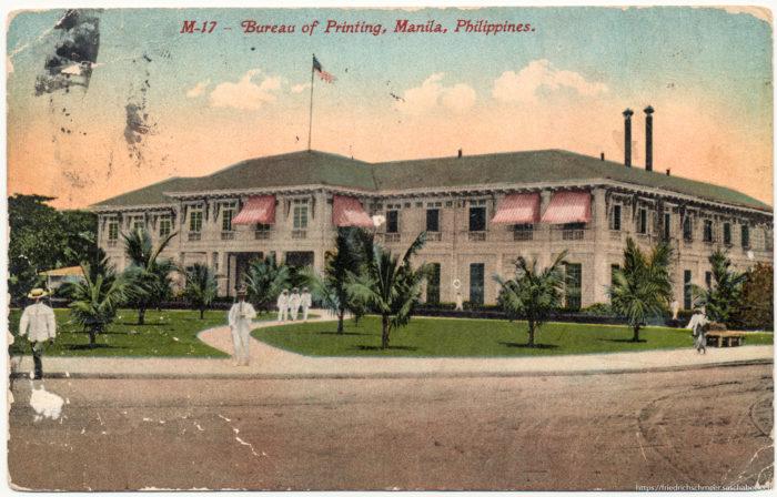 M-17 - Bureau of Printing, Manila, Philippines