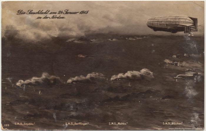 Die Seeschlacht am 24. Januar 1915 in der Nordsee